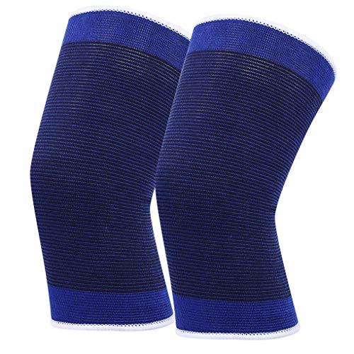 Laileya 1 Paar Sport elastische Knie Unterstützung Klmer atmungsaktiv Feuchtigkeitstransport Basketball Knee Guard Schutz Band