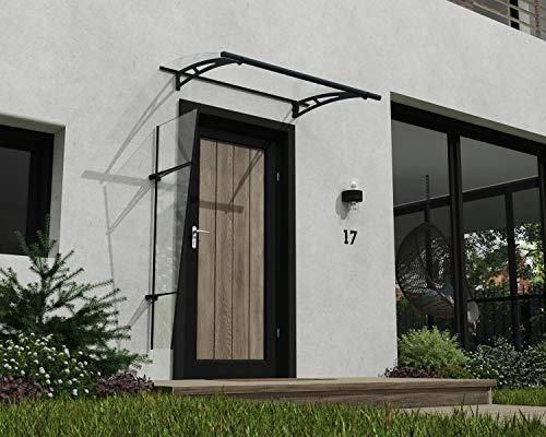 Palram Aquila Tango – Vordach Mit Seitenteil, Windschutz, Ideal für Haustür, Optimaler Schutz