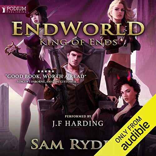 King of Ends audiobook cover art