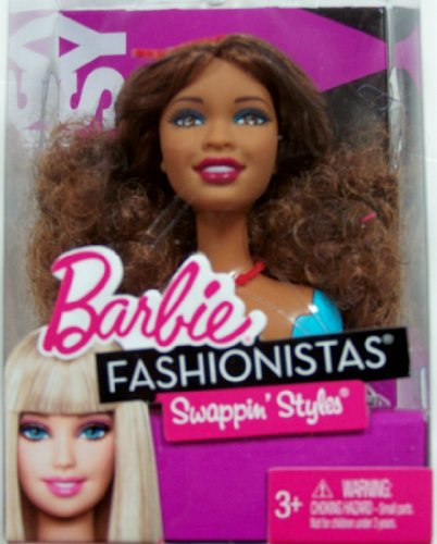 Mattel Barbie Fusionista, CREA el Aspecto, Multicolor, 3.MTT9123