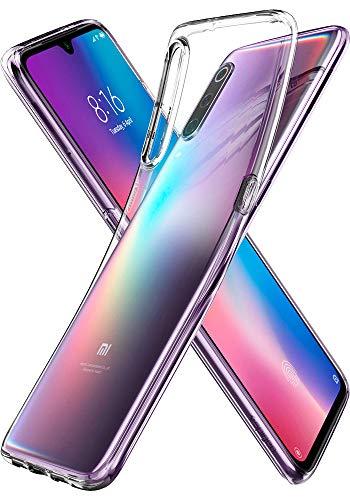 Spigen Cover Xiaomi Mi 9 Liquid Crystal Fit Progettato per Xiaomi Mi 9 Cover Custodia - Crystal Clear