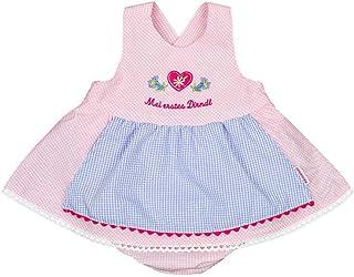 P.Eisenherz Baby - Mädchen Baby Dirndl rosa, Rosa,