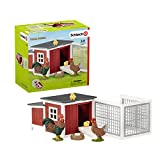 Schleich 42421 Farm World play set - gallinero, juguetes a partir de 3 años