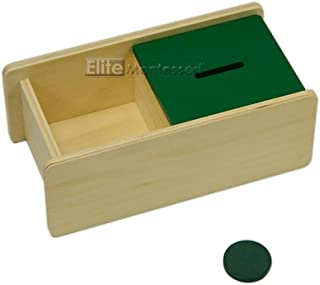Elite Montessori Imbucare Box with Flip Lid (1 Slot)