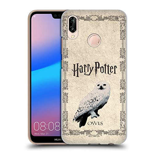 Officiel Harry Potter Hedwig Chouette Prisoner of Azkaban III Coque Dure pour l'arrière Compatible avec Huawei P20 Lite