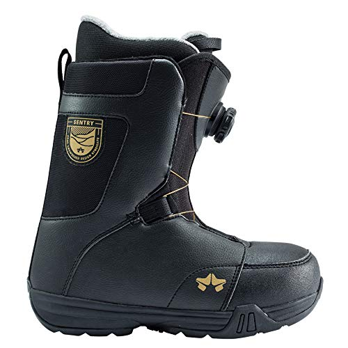 Rome Snowboards Sentry Boa Snowboard Boots–Frauen, schwarz, 7,5