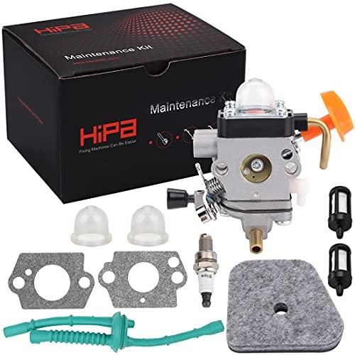 Hipa FS90R Carburetor C1Q-S174 for STIHL FS90 FS110 HT101 FS130 FS100 FS110R KM110R KM130 HL100 HT100 FS100RX FS130R FS87 FS100R KM90 KM90R KM100 KM110 KM130R FC90 FC95 FC100 FC110 HL90 Trimmer