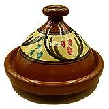 Ameublement Etnico Tajine 2001211032 Casserole Terre cuite Plat Marocain 25 cm