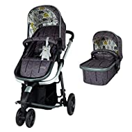 Enhanced performance: unique tyre material and all-round premium suspension give air-soft feel Comfy all-round: spacious carrycot for growing babies, washable liner and reversible reclining seat Nippy 3-wheeler: sporty, streamlined manoeuvrability he...