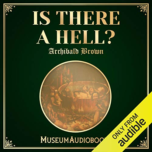 Is There a Hell? audiobook cover art
