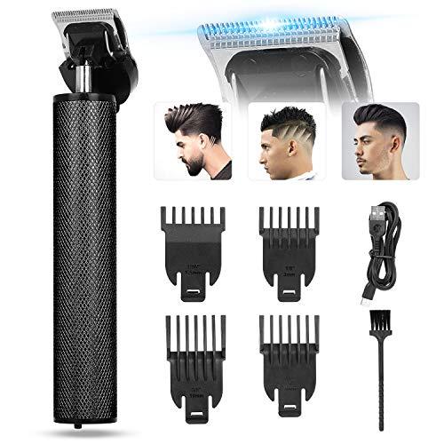 Haarschneidemaschine Profi Haarschneider für Männer,DIAHOUD Kabelloser T-Klingen-Trimmer Mit 4 Kamm,Elektrischer Outliner Grooming Trimmer Mit USB Wiederaufladbarer Apparat