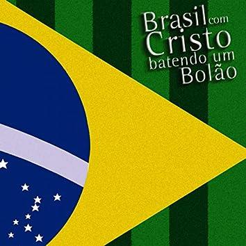 Brasil Com Cristo Batendo Um Bolão