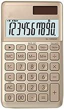 $38 » ZZL Multifunction Electronic Desktop Business Office Calculator Solar Dual Power 10 Bit Widescreen Display Simple Calculat...