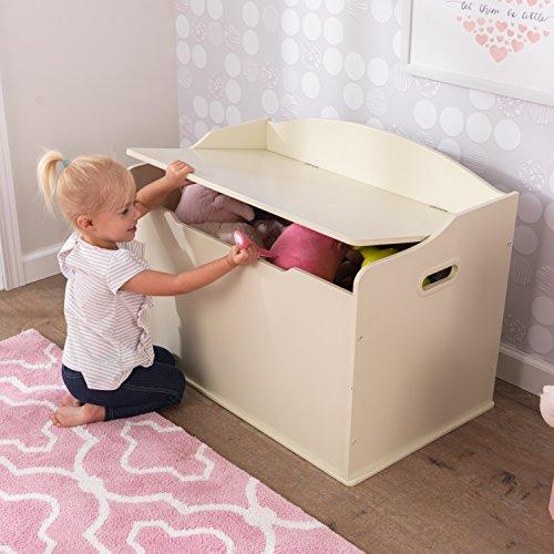 KidKraft Spielzeugtruhe Austin – Vanille, 77,6×46,4×49,8cm - 8