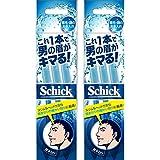 シック Schick メンズ Lディスポ 使い捨て 顔・眉毛用 セーフティガード付 男性 フェイス 単品 3本入×2個