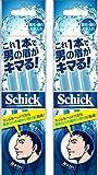 Schick(シック) シック Schick メンズ Lディスポ 使い捨て 顔・眉毛用 セーフティガード付 男性 フェイス 単品 3本入×2個