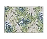 dream hogar coperchio per contatore di luce copri quadri elettrici tropicali legno 46 x 32 x 6 cm