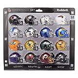 Riddell NFC 2020 Pocket Pro Speed Mini Helmet Conference Set for The NFL, Multi