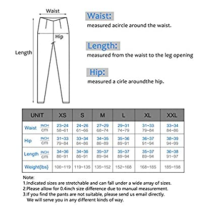 IUGA Yoga Pants with Pockets, Tummy Control, Workout Running Leggings with Pockets for Women 7