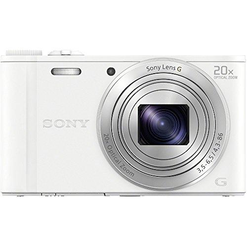 ソニー デジタルカメラ Cyber-shot WX350 光学20倍 ホワイト DSC-WX350-W