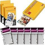 Kodak Mini 2 Impresora Fotográfica Instantánea Portátil Retro, Conexión Inalámbrica, Compatible...