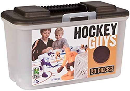 venta Kaskey Kids Hockey Guys - Inspires Imagination Imagination Imagination with Open-Ended Play - Includes 2 Full Teams and More - For Ages 3 and Up by Kaskey Kids  ordene ahora los precios más bajos