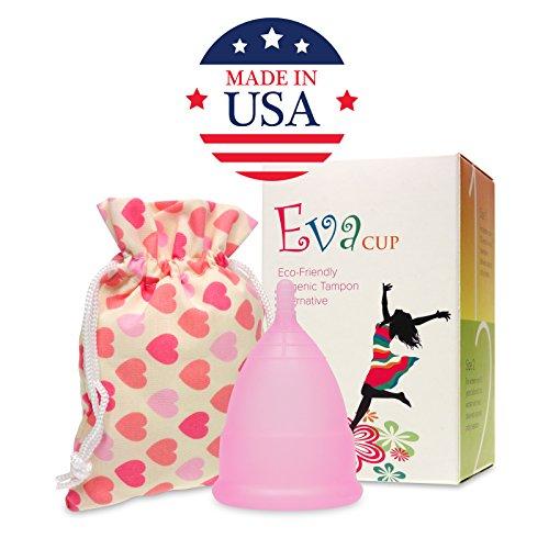 Anigan EvaCup (fabricado en Estados Unidos) - Copa menstrual