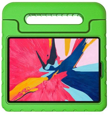Case2go Eva Kids - Funda para Apple iPad Air 10,9 (2020), color verde