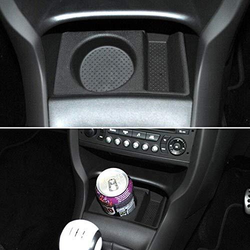 Soporte para latas de coche 9425E4 para botella de agua y bebida, para interior de puerta y ventana, compatible con Citroen DS3