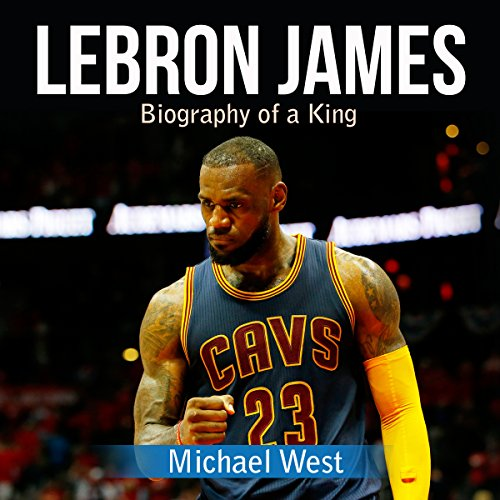 LeBron James audiobook cover art