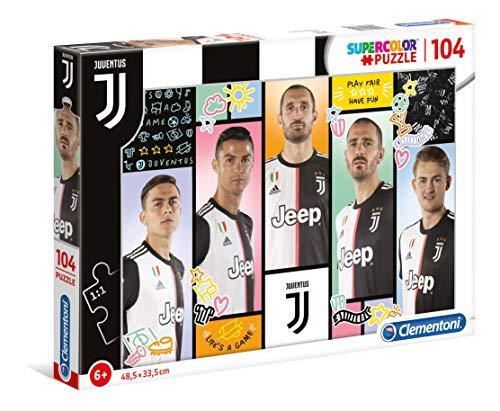 Clementoni - Juventus FC, Puzzle, 104 pezzi, Colore Multicolore, 27132