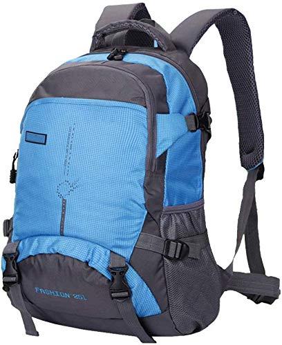WYJW rugzak outdoor-reizen bergbeklimmen mannen en vrouwen laptoptas 16 inch lichtgewicht waterdichte grote capaciteit 45l blauw