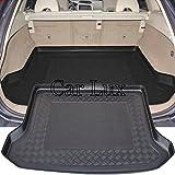 Car Lux AR00405 - Alfombra Cubeta Protector cubre maletero a medida para Volvo XC60 desde 2008-