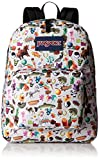 JanSport Superbreak Backpack- Sale Colors (Multi Stickers)