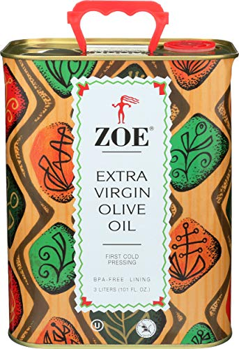 ZOE Extra Virgin Olive Oil Tin, 3 Liter, 101.4 Ounce