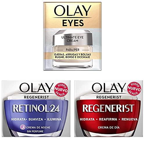 Olay Eyes Ultimate Eye Cream para Ojeras, Arrugas y Bolsas +...