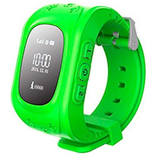 E-NUC Reloj Security GPS Kids G36 Verde