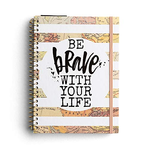 DaySpring - Katygirl - Be Brave with Your Life - Undated 12 Month Weekly Monthly Agenda Planner (J2021)