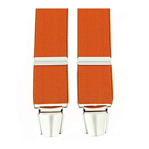 Tony & Paul - Bretelle 4 Clips, Orange