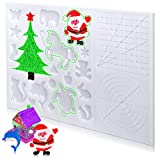 WANLISS 3D Pen mat,3D Printing Pen mat Silicone with Patterns and Animal,for Beginners,Children and 3D Pen Artists,Good Design 3D Pens Drawing Tools with 2 Finger Protection,(16.2 x 10.9 inches)