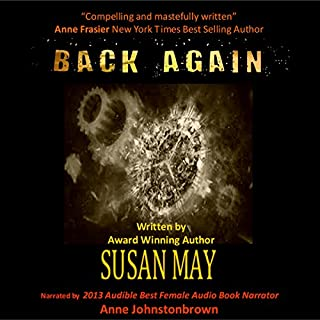 Back Again audiobook cover art