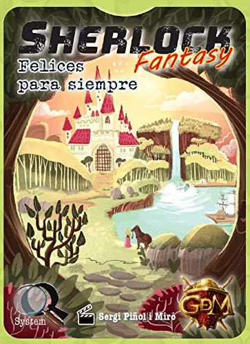 GDM Games- Sherlock Fantasy: Felices para Siempre Juego de Mesa, Color Verde...