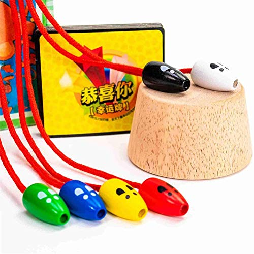 Cat Catch Mouse -Fangspiel, Kreative Kinder Interaktives Holzspielzeug Für Kinder - Cat Catch Mouse...