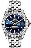 Breitling Galactic 41 Blue Dial with Diamond Bezel Men's Watch A49350LA/C929-366A