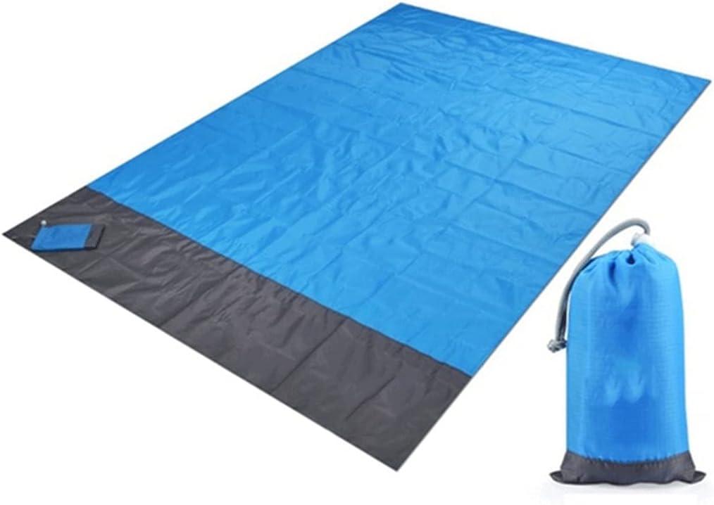 CIJK Waterproof Outlet Classic sale feature Pocket Beach Blanket Mat Folding Mattres Camping