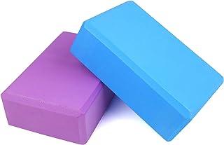 CCINEE 2 Pack Yoga Block Set,High Density EVA Foam Yoga Block for Yoga,Meditation Pilates and Stretching Exercise