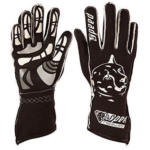 Speed Racewear - Motorsport Handschuhe - Karthandschuhe Melbourne G-2 - Schwarz/weiß (11)