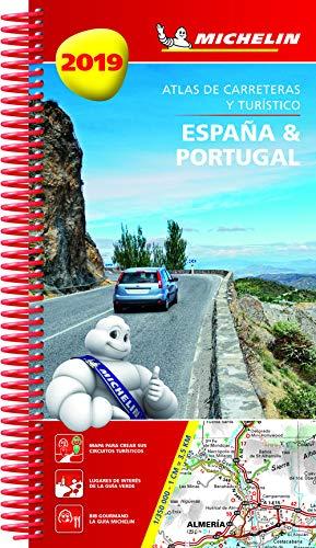 España & Portugal 2019 (Atlas de carreteras y turístico ) (Atlas de carreteras Michelin)