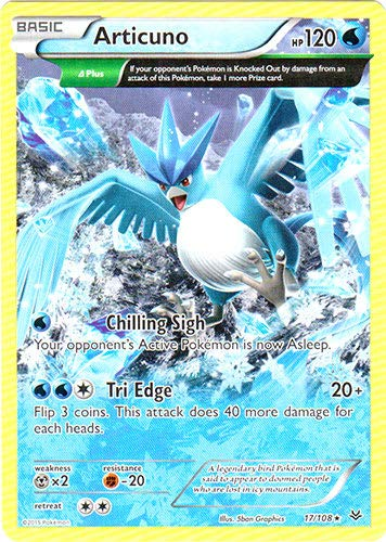 Pokemon - Articuno (17/108) - XY Roaring Skies