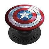 The Falcon and the Winter Soldier Captain America Shield PopSockets PopGrip: Agarre intercambiable para Teléfonos y Tabletas